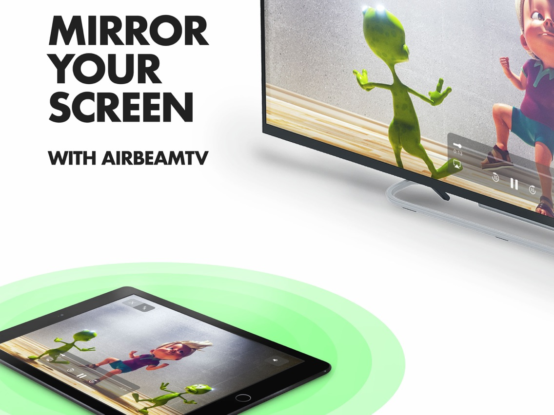 Mirror for Roku - AirBeamTV App for iPhone - Free Download