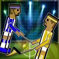 Hockey Physics Game-Glow Hockey Soccer Jump Fun