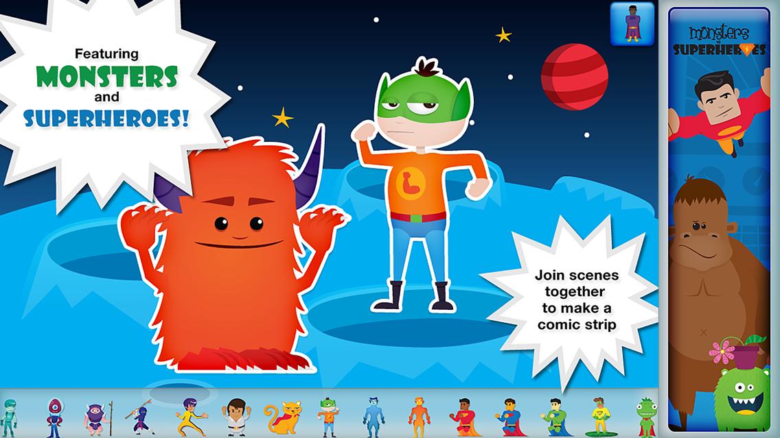 Superhero Comic Book Maker App for iPhone - Free Download