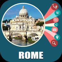 Rome Italy Offline Travel Map