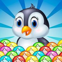 Penguins Funny - Bubble Shooter