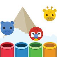 4 Animals Jump Game