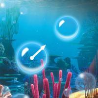 Underwater Bubble Shooting