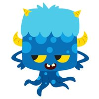 Cute Monster Stickers For iMessage