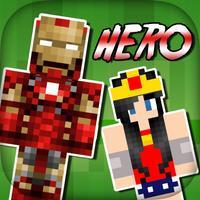 SuperHero Skins - Export Skin for Minecraft Pocket Edition