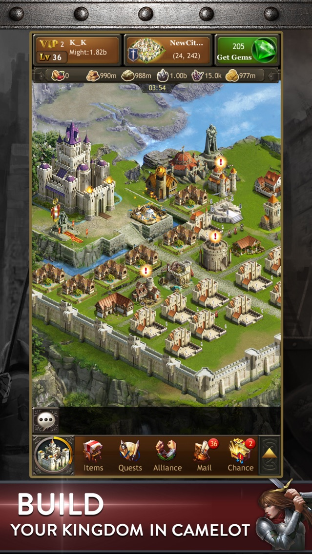 Kingdoms of Camelot: Battle App for iPhone - Free Download Kingdoms on merlin map, runes of magic map, mabinogi map, elsword map,