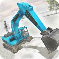 Heavy Snow Excavator Simulator - Plow Truck Rescue