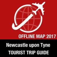 Newcastle upon Tyne Tourist Guide + Offline Map
