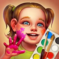 Brush and Smudge - coloring book