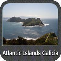 Atlantic Islands Galicia GPS Map Navigator