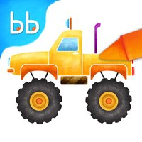 Little Trucks Colorbook Free by Tabbydo : Vehicles coloring app for kids & preschoolers