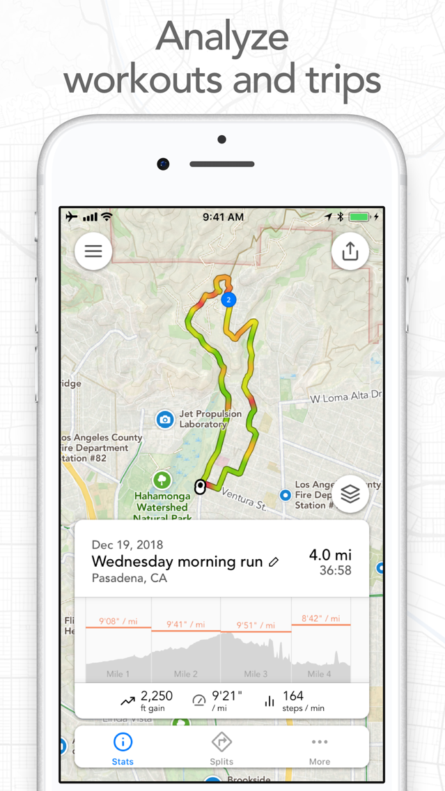 Footpath Route Planner App for iPhone - Free Download