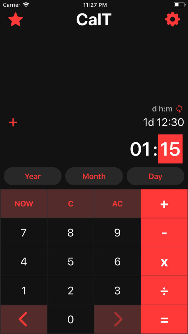 CalT - Date & Time Calculator App for iPhone - Free Download