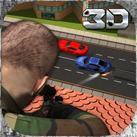 City Military Sniper Simulator 3D: Strike down the terrorist in the armed vehicles