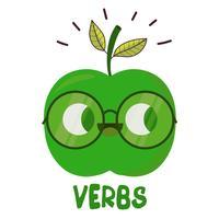English verbs in sentences