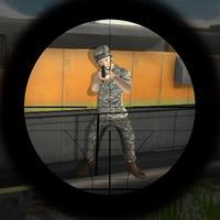 Train Sniper Assassin: Sharp-shooter Killer