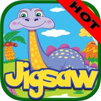 Little Dinosaur Jigsaw Puzzle Boards For Adults