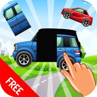 Cars and Trucks Puzzle Vocabulary Game for Kids and Toddlers - Education game to Learn Vehicle Vocabulary Words