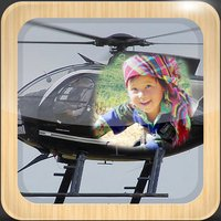 Airplane & Helicopter Photo Frames - make eligant and awesome photo using new photo frames