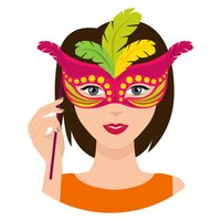 Party Mask Emoji