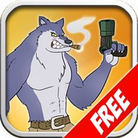 Courage Wolf Jump Free
