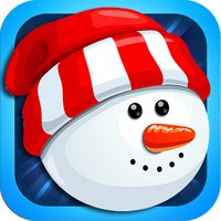 Frozen Snowman Pop - Fall In Love With This Free Winter Puzzle Game!
