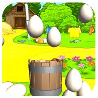 Golden Farm Egg Cather Rescue Free:Angry Chicken