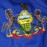 Pennsylvania Flag Stickers