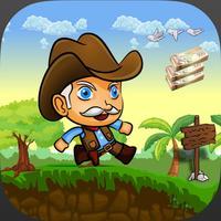Cowboy Run : running game