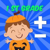 Halloween Math Game 1st Grade