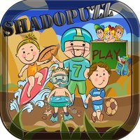 shadopuzz-shadow puzzle vocabulary english for kid