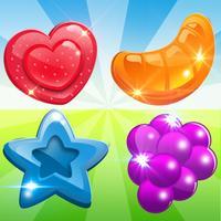 Gummy Yummy Candy Match