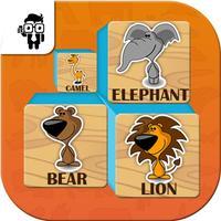 Match Animal Cards Memory Kid Game