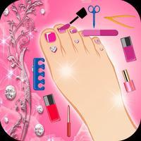 Princess Foot spa for girls - Pedicure