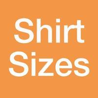 T-Shirt Sizes Card