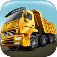 Construction Truck Parking Lot Zone