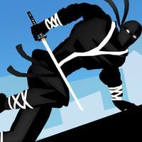 Ninja Parkour Dash: Escaping Vector Samurai & Jumping Sensei's Banzai & Throw-ing Shurikens