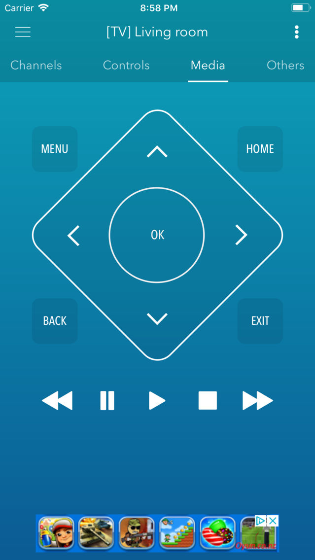 Smart Remote For Samsung TV App for iPhone - Free Download Smart