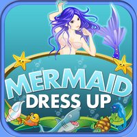 Enchanted Mermaid Dressup Mystery Hidden Objects and Painting - Game for kids toddlers and boys
