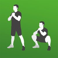 Squats - exercises trainings
