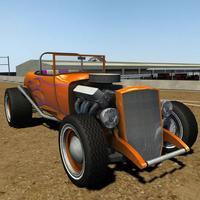 Classic Roadster 1930s Car Dirt Racing 3D - Driving Vintage Old Car Simulator