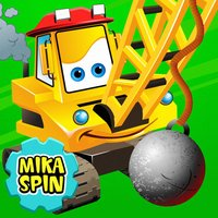 "Mika ""Boom"" Spin - wrecking ball bulldozer for kids"