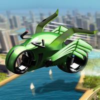 Robot Flying Bike: Motorbike Stunt Pilot