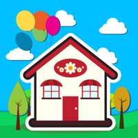 3D Coloring -Playing House 2