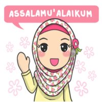 Hijab Muslimah Sticker
