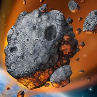 Meteor Strike -Avoidance action game that you play with simple operation-