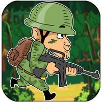 Frontline Jungle War Soldier Troopers Run: Great Militia War Brigade