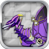 Pterosaur: Robot Dinosaur - Trivia & Funny Puzzle Game