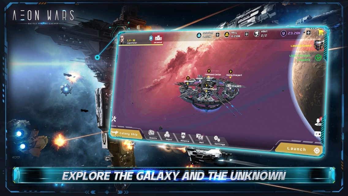 Aeon Wars: Galactic Conquest App for iPhone - Free Download