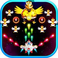 Chicken Fighter Ship -  Earth Defense